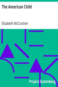 Cover of The American Child