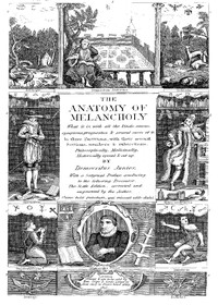 Cover of The Anatomy of Melancholy