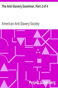 Cover of The Anti-Slavery Examiner, Part 2 of 4
