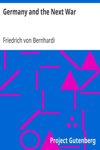 Cover of Germany and the Next War