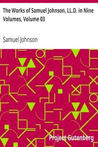 The Works of Samuel Johnson, LL.D. in Nine Volumes, Volume 03 The Rambler, Volume II