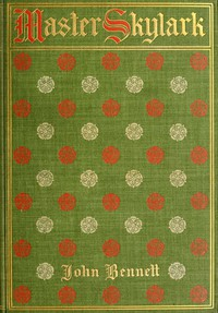 Cover of Master Skylark: A Story of Shakspere's Time