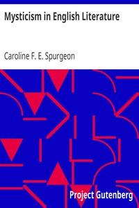 Cover of Mysticism in English Literature