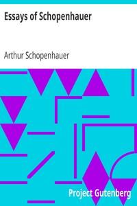 Cover of Essays of Schopenhauer
