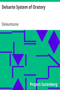 Cover of Delsarte System of Oratory