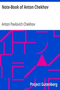 Cover of Note-Book of Anton Chekhov