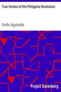 Cover of True Version of the Philippine Revolution
