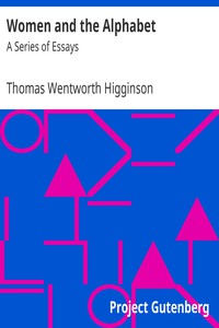 Cover of Women and the Alphabet: A Series of Essays