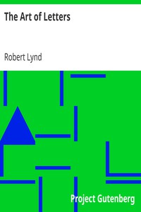 Cover of The Art of Letters