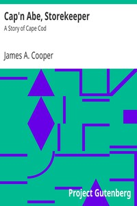 Cover of Cap'n Abe, Storekeeper: A Story of Cape Cod
