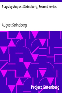 Cover of Plays by August Strindberg, Second series