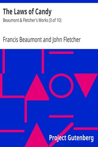 Cover of The Laws of CandyBeaumont & Fletcher's Works (3 of 10)