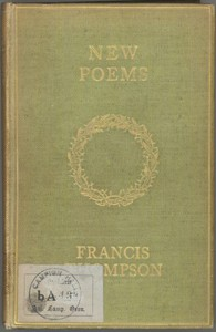 Cover of New Poems