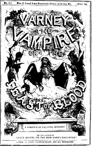 Cover of Varney the Vampire; Or, the Feast of Blood