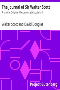 Cover of The Journal of Sir Walter ScottFrom the Original Manuscript at Abbotsford