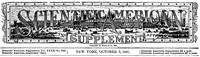 Scientific American Supplement No. 822, October 3, 1891