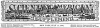 Scientific American Supplement, No. 810, July 11, 1891