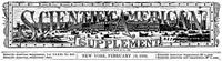 Scientific American Supplement, No. 841, February 13, 1892