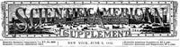 Cover of Scientific American Supplement, No. 388, June 9, 1883