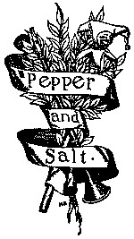 Cover of Pepper & Salt; or, Seasoning for Young Folk