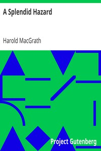 Cover of A Splendid Hazard
