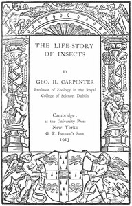 Cover of The Life-Story of Insects