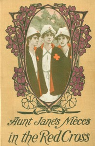 Cover of Aunt Jane's Nieces in the Red Cross