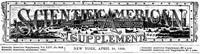 Cover of Scientific American Supplement, No. 643,  April 28, 1888