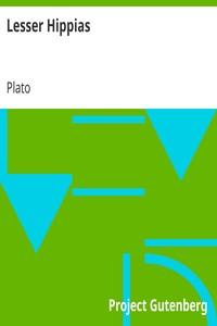 Cover of Lesser Hippias