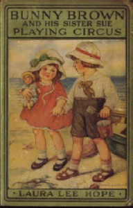 Cover of Bunny Brown and His Sister Sue Playing Circus
