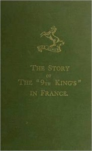 """Cover of The Story of the """"9th King's"""" in France"""