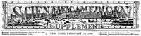 Cover of Scientific American Supplement, No. 633,  February 18, 1888
