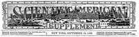 Cover of Scientific American Supplement, No. 717,  September  28, 1889