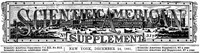 Cover of Scientific American Supplement, No. 312, December 24, 1881