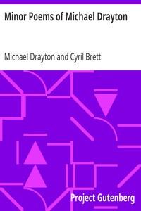 Minor Poems of Michael Drayton