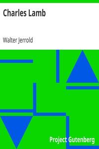 Cover of Charles Lamb