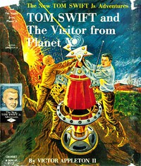 Cover of Tom Swift and The Visitor from Planet X