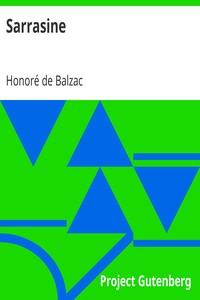 Cover of Sarrasine