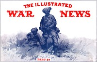 Cover of The Illustrated War News, Number 21, Dec. 30, 1914