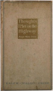 """Cover of Thoughts I Met on the Highway: Words of Friendly Cheer From """"The Life Books"""""""