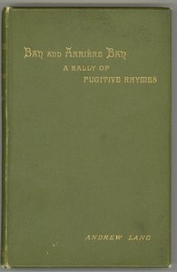 Ban and Arriere Ban: A Rally of Fugitive Rhymes
