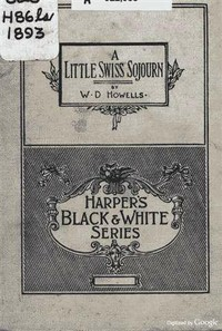 Cover of A Little Swiss Sojourn