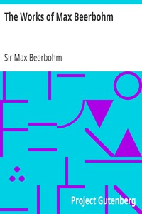 Cover of The Works of Max Beerbohm