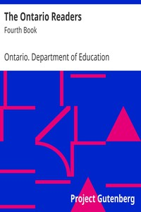 The Ontario Readers: Fourth Book