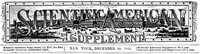 Scientific American Supplement, No. 365, December 30, 1882