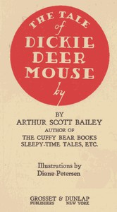 Cover of The Tale of Dickie Deer Mouse