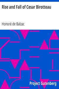 Cover of Rise and Fall of Cesar Birotteau