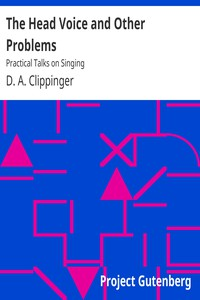 Cover of The Head Voice and Other Problems: Practical Talks on Singing
