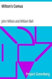 Cover of Milton's Comus