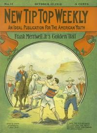 Cover of Frank Merriwell, Junior's, Golden Trail; Or, The Fugitive Professor